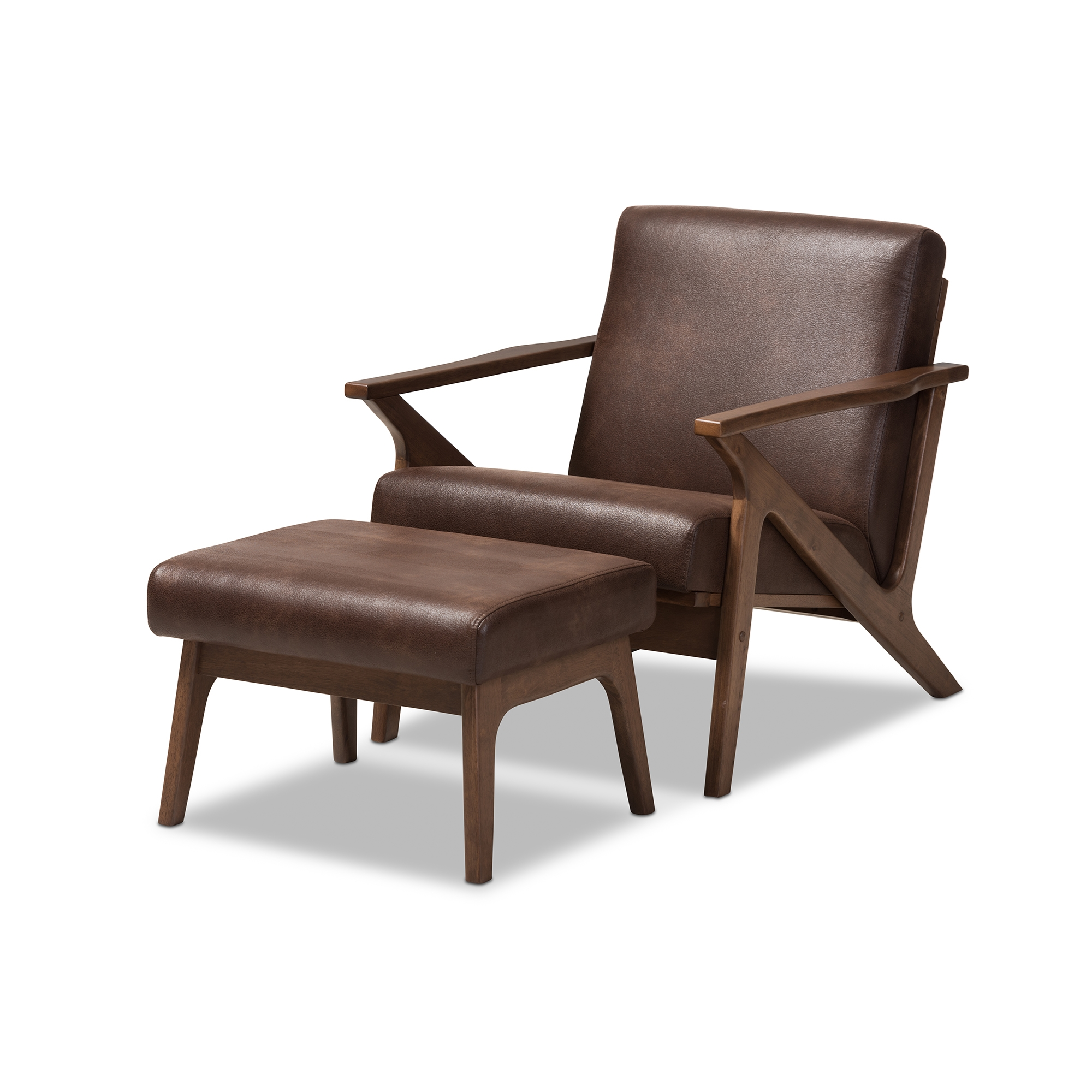 schubell vintage madsen listings vinterior by for leather bovenkamp ottoman lounge chair with