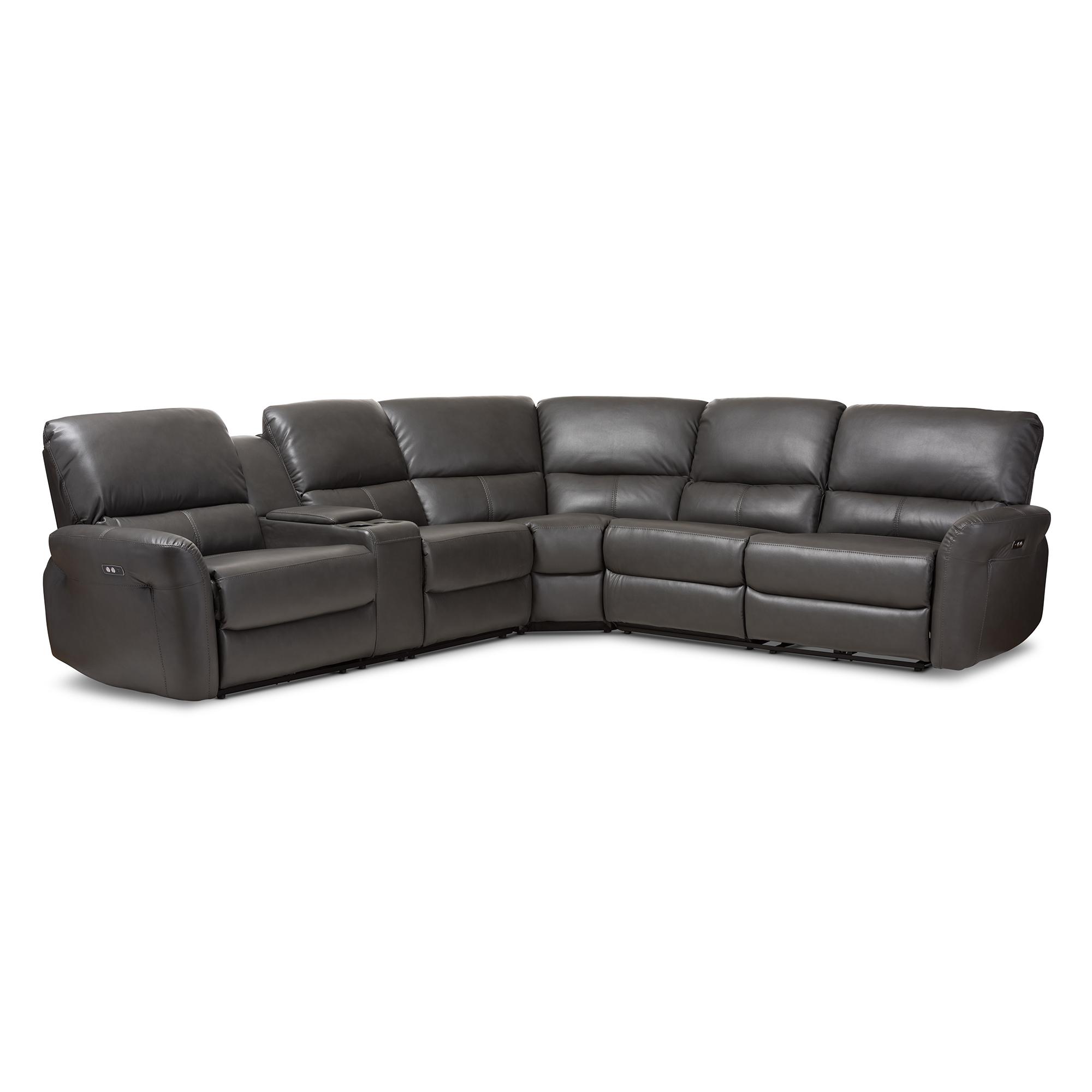 Amazing Baxton Studio Amaris Modern And Contemporary Grey Bonded Machost Co Dining Chair Design Ideas Machostcouk
