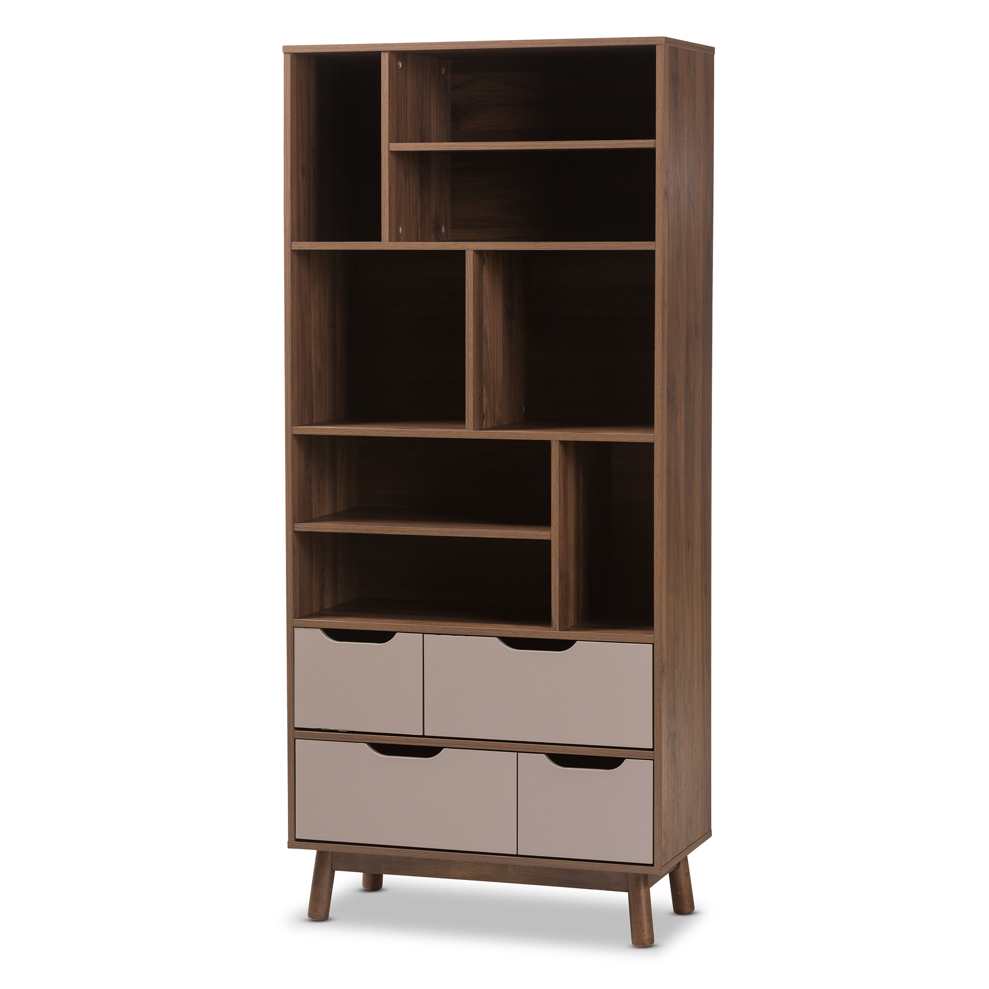 pine kidkraft full avalon white small shelf carson drawers bookcase wide one target of three size two