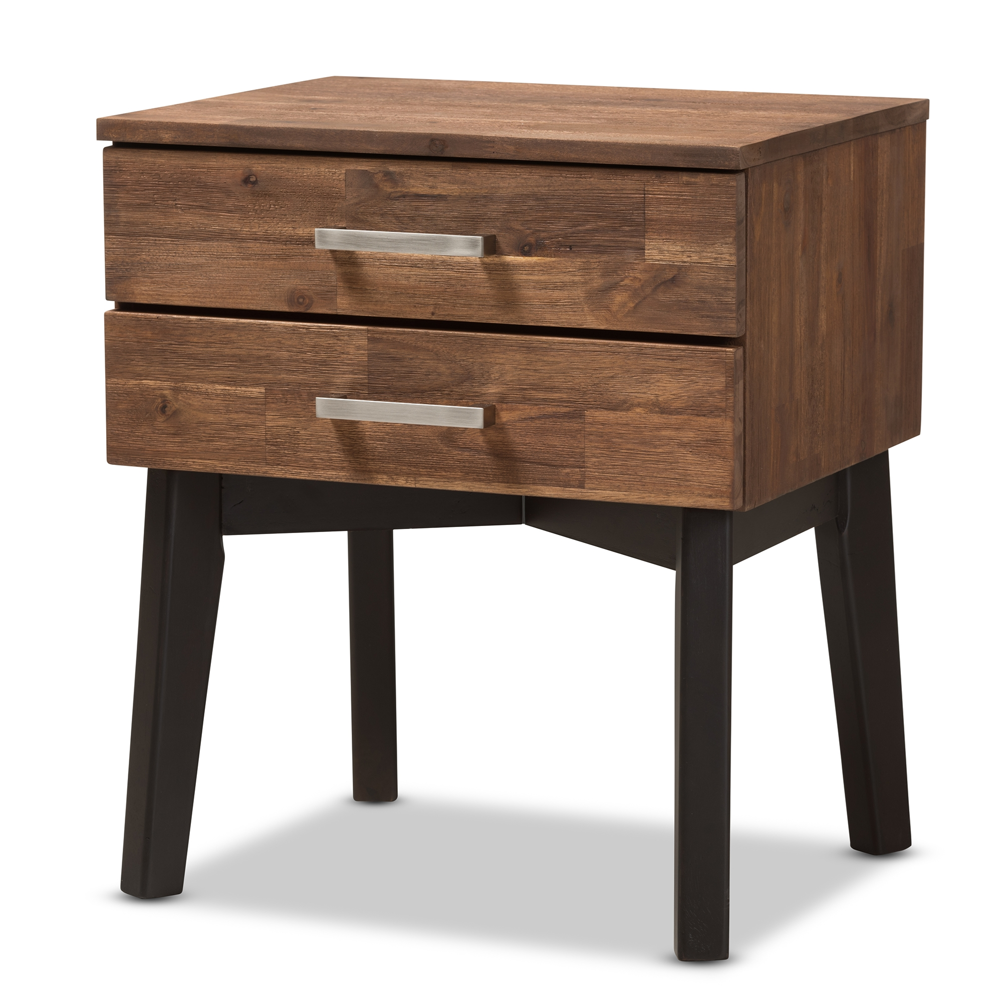 Modern nightstand with drawers stunning reed nightstand for Modern nightstand ideas