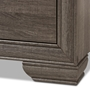 Baxton Studio Erick Modern and Contemporary Grey Finished 7-Drawer Dresser - BSOC6412A-Grey-Dresser