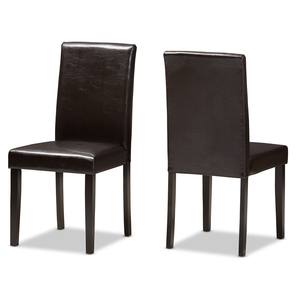 Leather Dining Chairs | Dining Room Furniture | Affordable Modern ...
