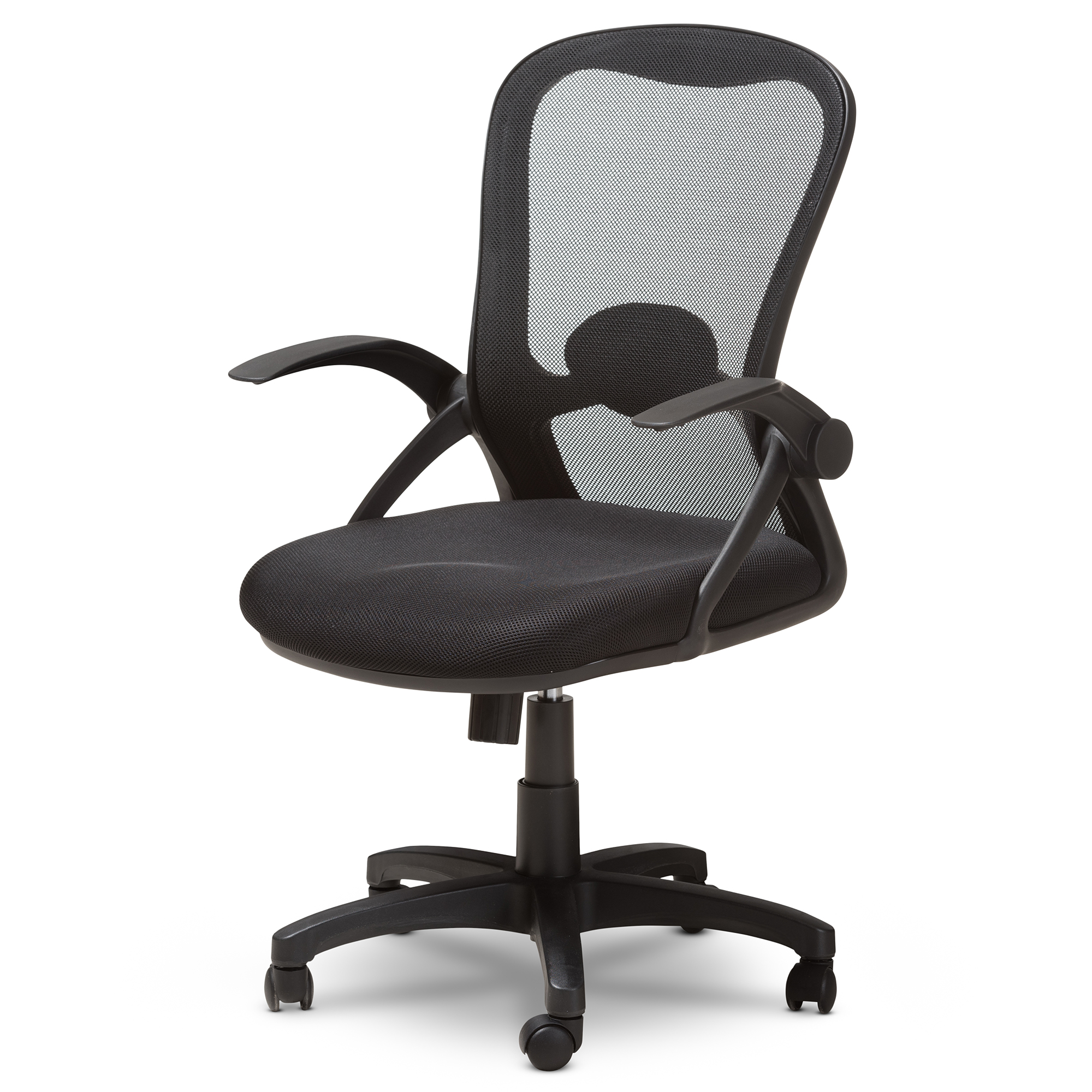 affordable modern office furniture. Wonderful Affordable Baxton Studio Bergmann Modern And Contemporary Ergonomic Black Mesh Office  Chair Affordable Modern Furniture In Chicago With Furniture E