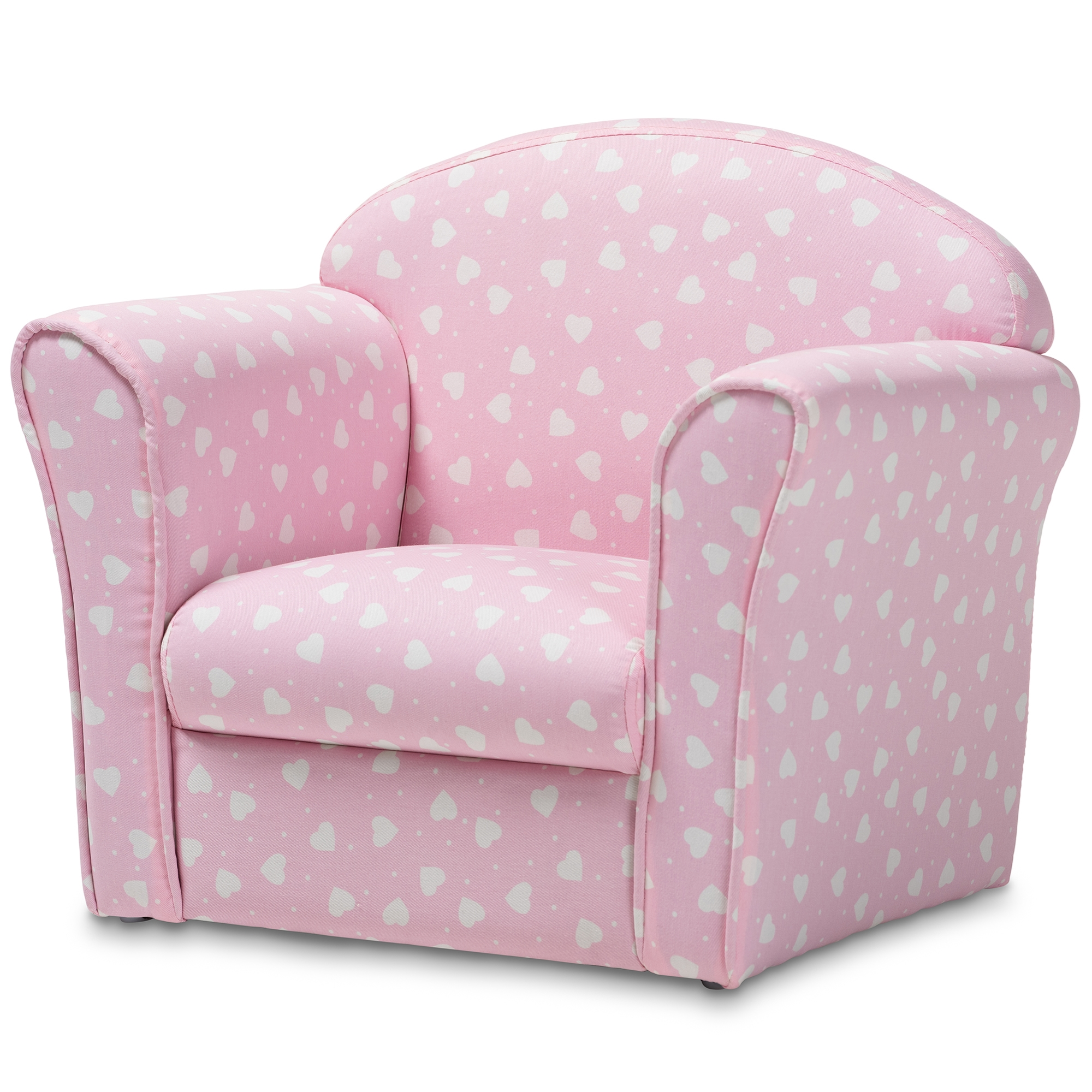 Sensational Baxton Studio Erica Modern And Contemporary Pink And White Creativecarmelina Interior Chair Design Creativecarmelinacom