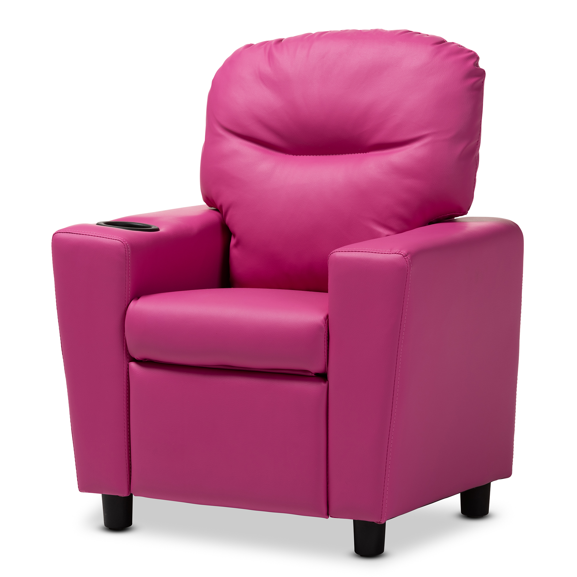Baxton Studio Evonka Modern And Contemporary Magenta Pink Faux
