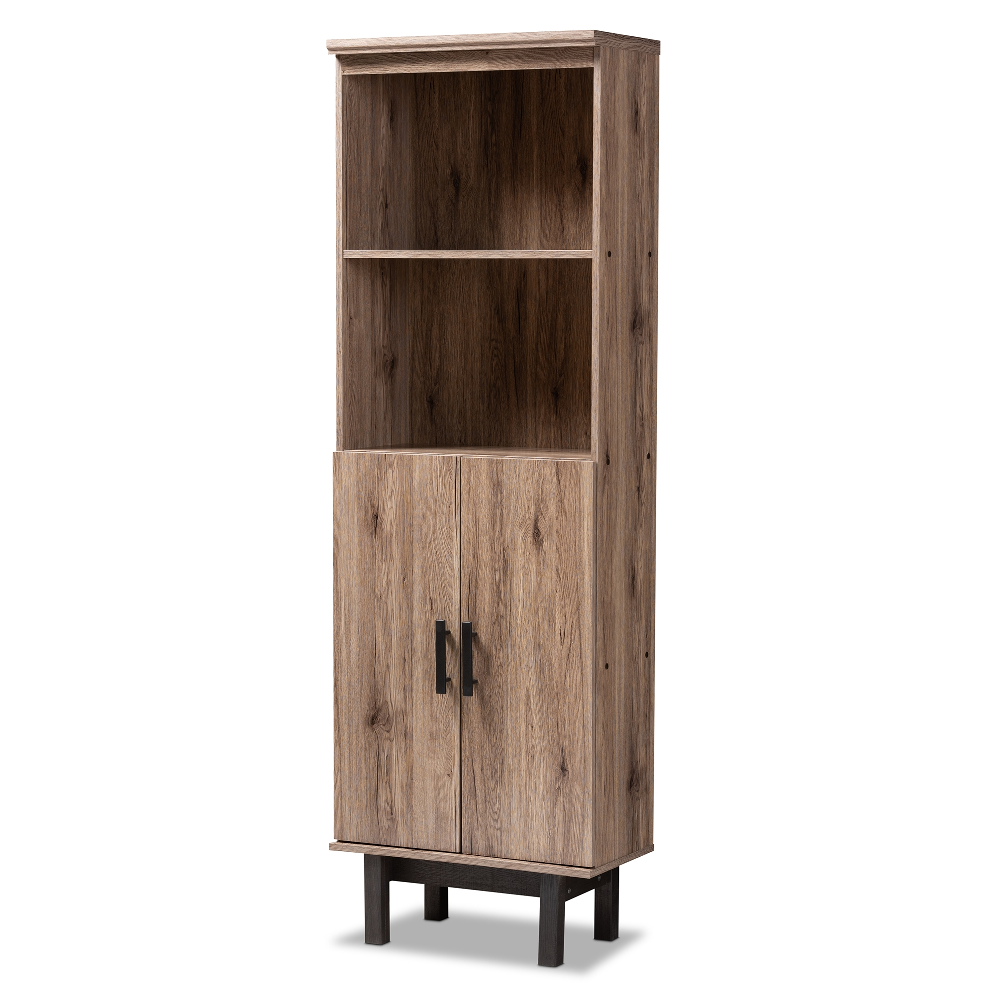 Baxton Studio Arend Modern And Contemporary Two Tone Oak And