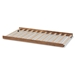 Baxton Studio Veles Modern and Contemporary Ash Walnut Finished Twin Size Trundle Bed - BSOMG0016-24-Ash Walnut-Trundle