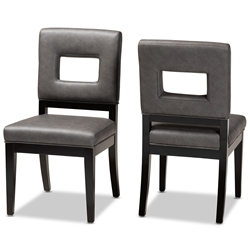 Pleasing Leather Dining Chairs Dining Room Furniture Affordable Dailytribune Chair Design For Home Dailytribuneorg