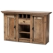 Baxton Studio Albert Modern and Contemporary Farmhouse Rustic Finished Wood 2-Door Dining Room Sideboard Buffet