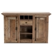 Baxton Studio Albert Modern and Contemporary Farmhouse Rustic Finished Wood 2-Door Dining Room Sideboard Buffet - BSOBH-001-Yosemile Oak-Buffet