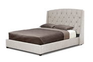 Baxton Studio Ipswich Beige Linen Modern Queen Platform Bed affordable modern furniture in Chicago, Baxton Studio Ipswich Beige Linen Modern Queen Platform Bed,  Bedroom Furniture  Chicago