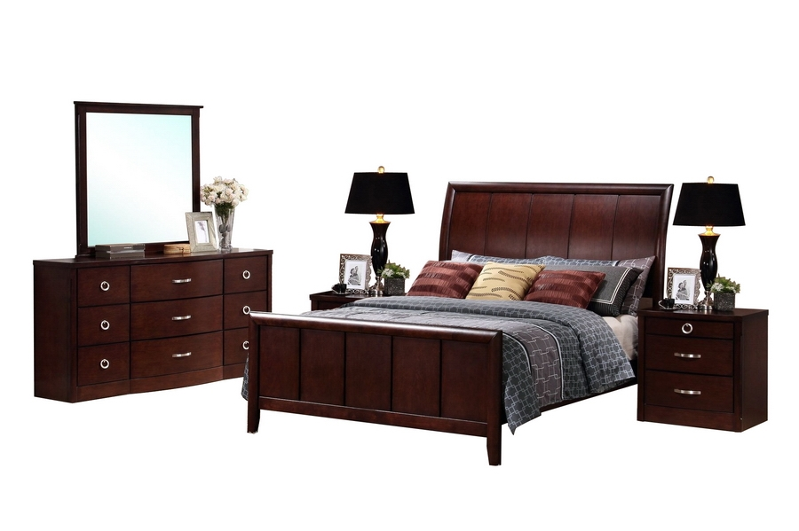 Baxton Studio Argonne King 5 Piece Wooden Modern Bedroom Set Affordable modern furniture in Chicago, Baxton Studio Argonne King 5 Piece Wooden Modern Bedroom Set,  Bedroom Furniture  Chicago