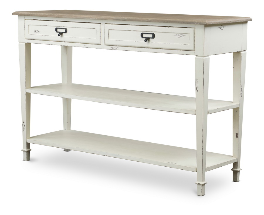 Baxton studiodauphine traditional french accent console for Cheap modern end tables