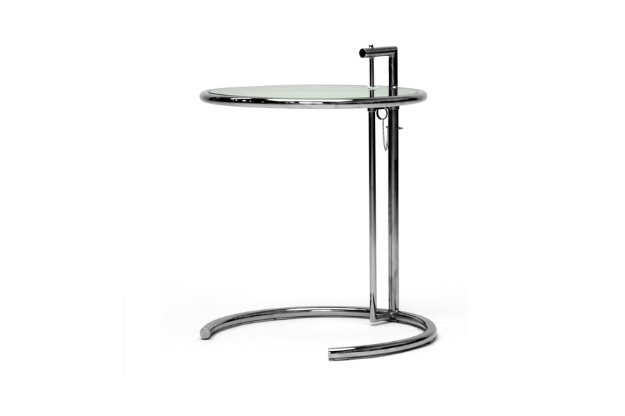 eileen gray style side table affordable modern furniture in chicago