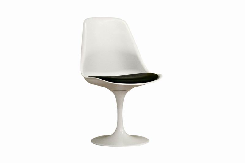 Baxton Studio White Padded Modern Accent Chair affordable modern furniture in Chicago, White Padded Modern Accent Chair, Living Room Furniture Chicago