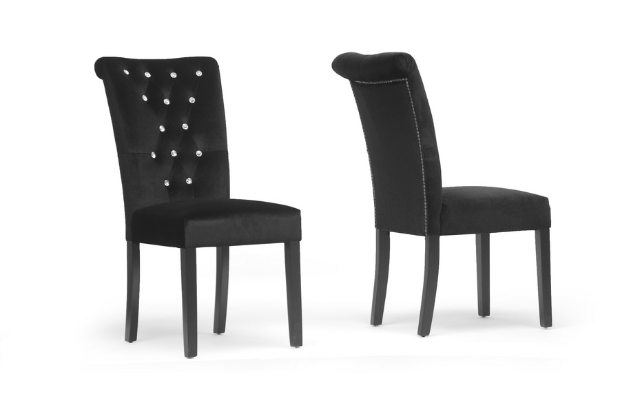 velveteen modern dining chair affordable modern furniture in chicago