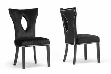 Fabric dining chairs dining room furniture affordable for Affordable furniture washington dc