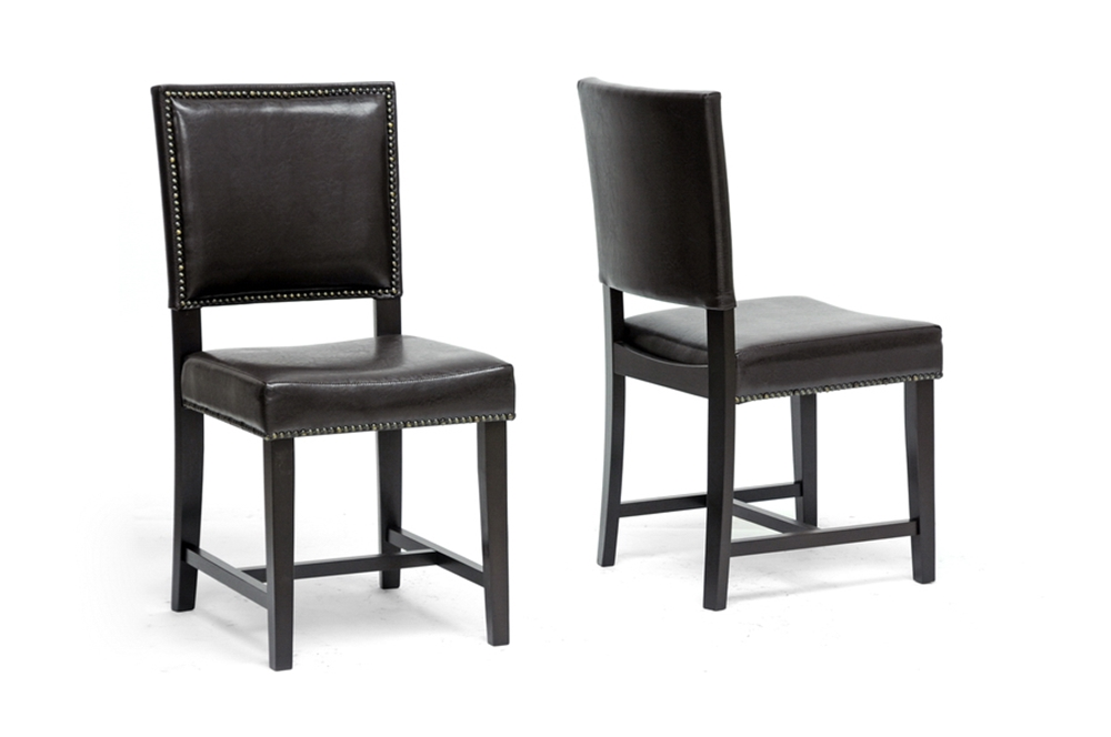 brown modern dining chair affordable modern furniture in chicago
