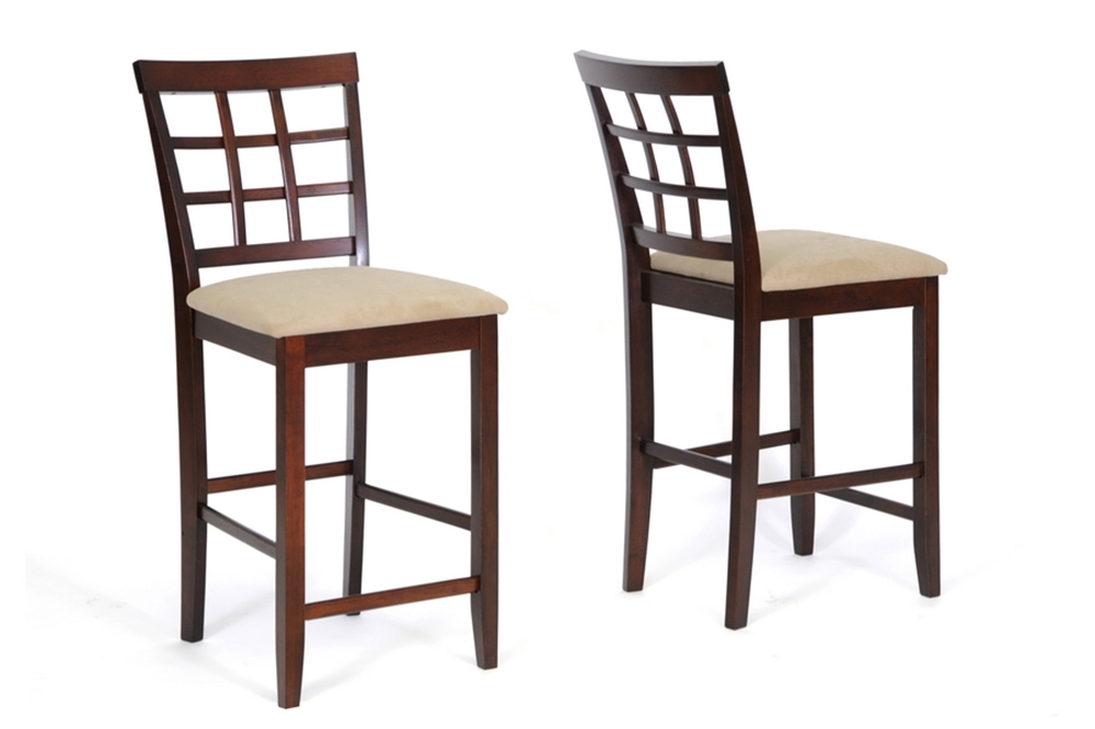 Baxton Studio Katelyn Modern Pub Table Set