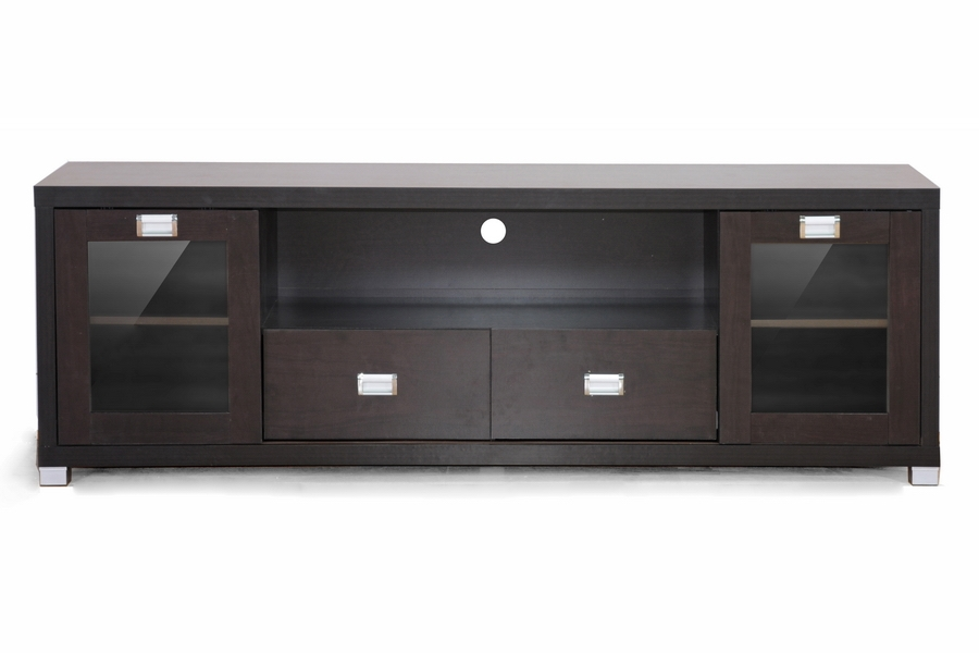 Baxton Studio Gosford Brown Wood Modern TV Stand Living  : FTV 881 from www.baxtonstudiooutlet.com size 1000 x 666 jpeg 169kB