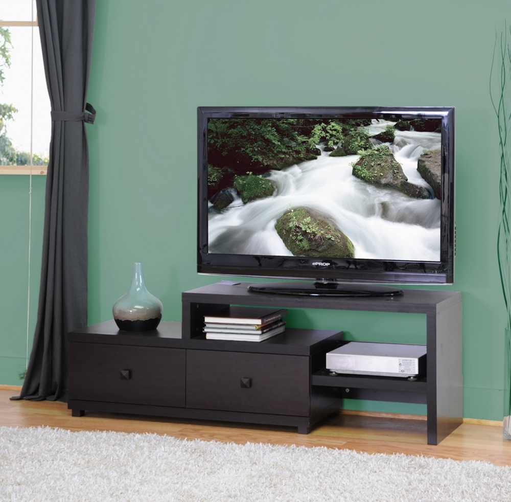 Blythe Modern Asymmetrical Tv Stand Affordable Modern