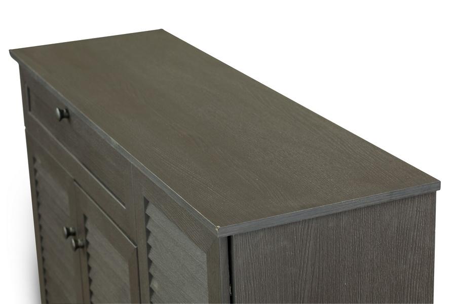 Baxton StudioPocillo Wood Shoe Storage Cabinet | Affordable Modern ...
