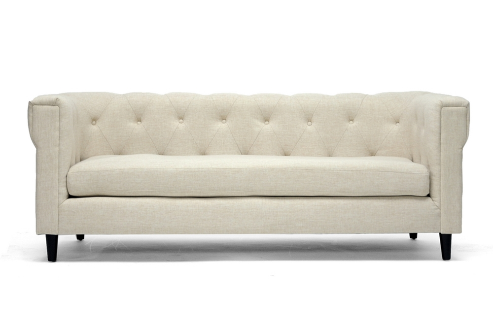Contemporary Chesterfield Sofa Leather