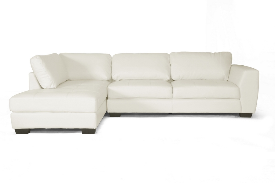 sectional sofas for small spaces canada modern leather sofa bed studio white set left facing chaise mid century sale