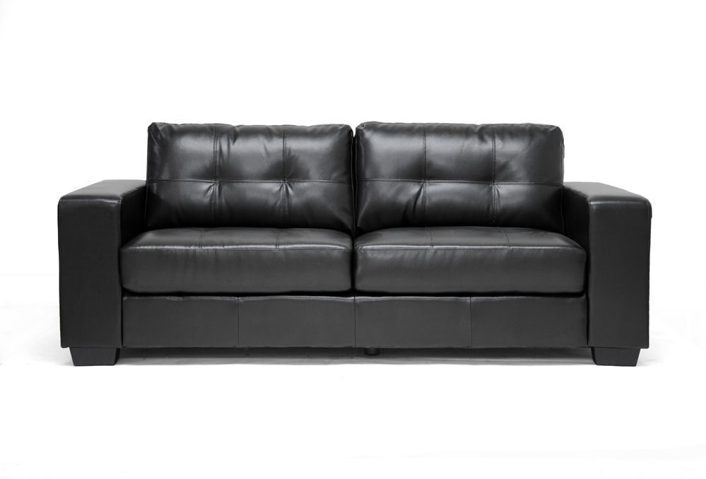 Whitney Black Leather Modern Sofa Set Affordable Modern  : IDS06 LT021 from www.baxtonstudiooutlet.com size 1000 x 678 jpeg 160kB