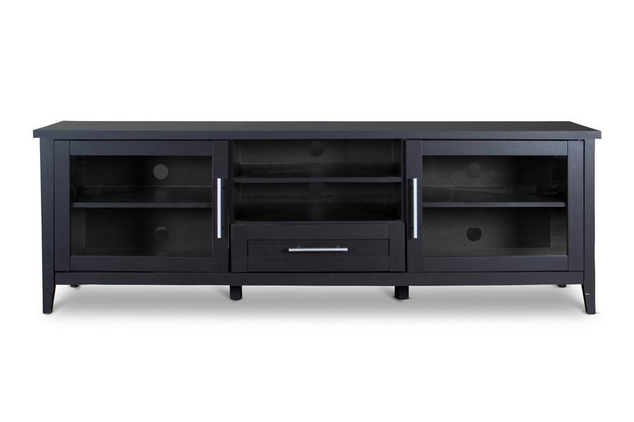 Baxton Studio Espresso Tv Stand One Drawer Affordable Modern