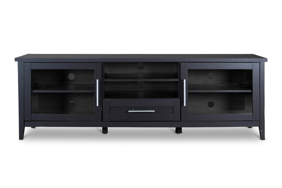 Baxton Studio Espresso TV Stand One Drawer   BSOI 1506 ...