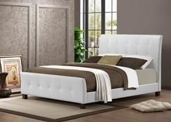Queen Bed Bedroom Furniture Affordable Modern Furniture Baxton Studio Outlet