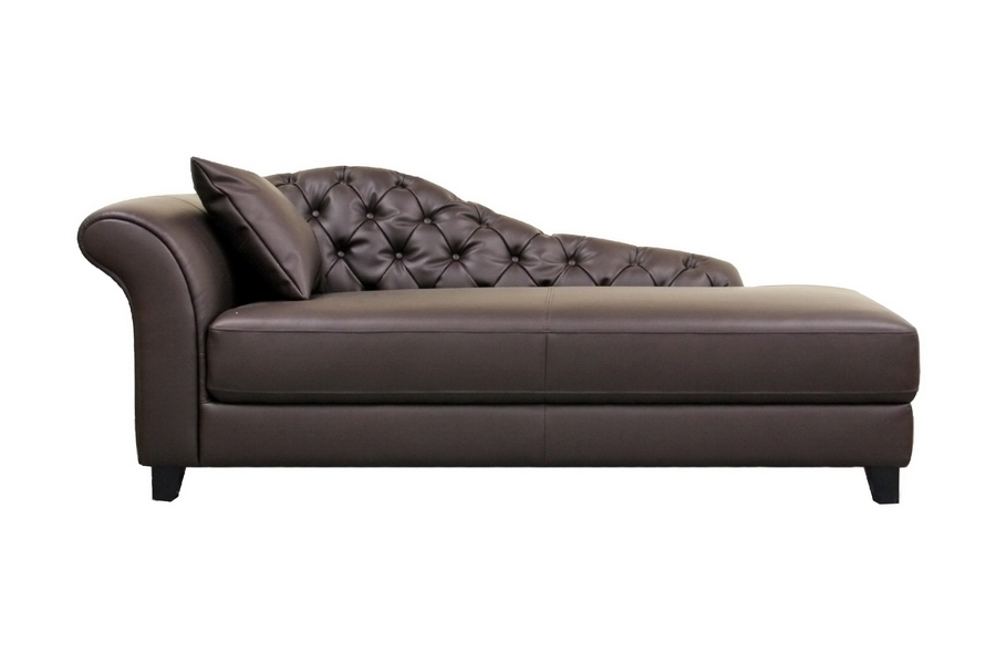 Baxton Studio Josephine Brown Victorian Modern Chaise Lounge - BSOA-681-DU206 ...  sc 1 st  Baxton Studio Outlet : chaise lounge brown - Sectionals, Sofas & Couches
