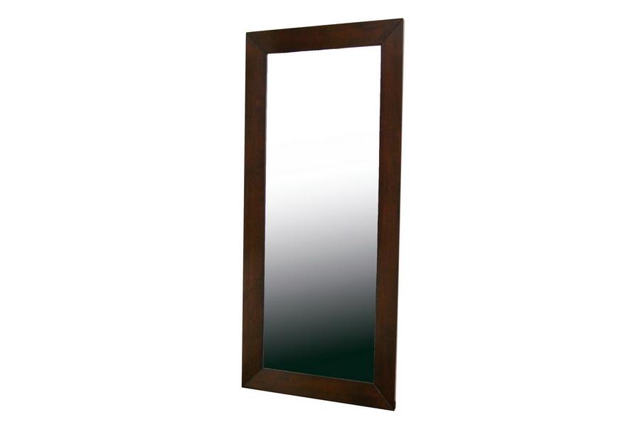 Doniea Dark Brown Wood Frame Modern Mirror Rectangle  : Mirror 0506051 from www.baxtonstudiooutlet.com size 1000 x 666 jpeg 87kB