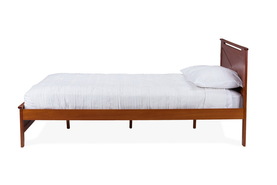 baxton studio demitasse brown wood twinsize bed bed