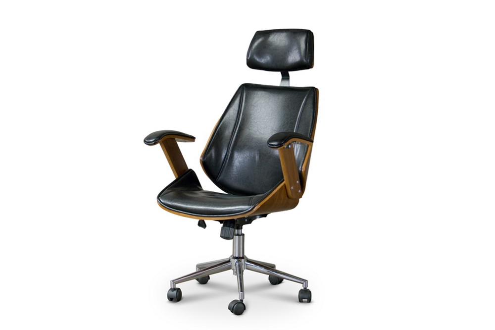 Baxton Studio Hamilton Office Chair Affordable Modern Furniture In Chicago