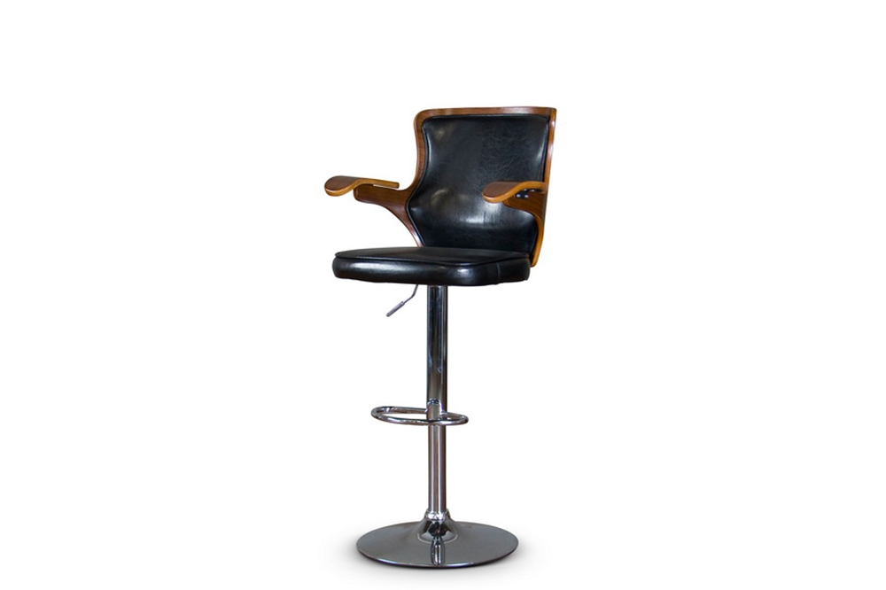 Baxton Studio Hamilton Bar Stool Affordable Modern Furniture In Chicago