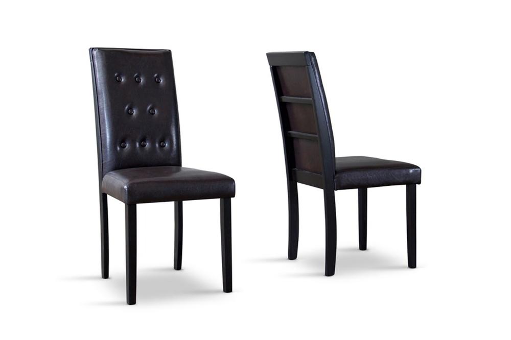 Baxton Studio Somerset Dining Chair Set Of 2