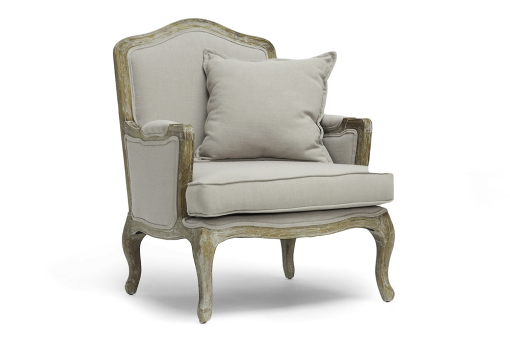 Baxton Studio Constanza Classic Antiqued French Accent