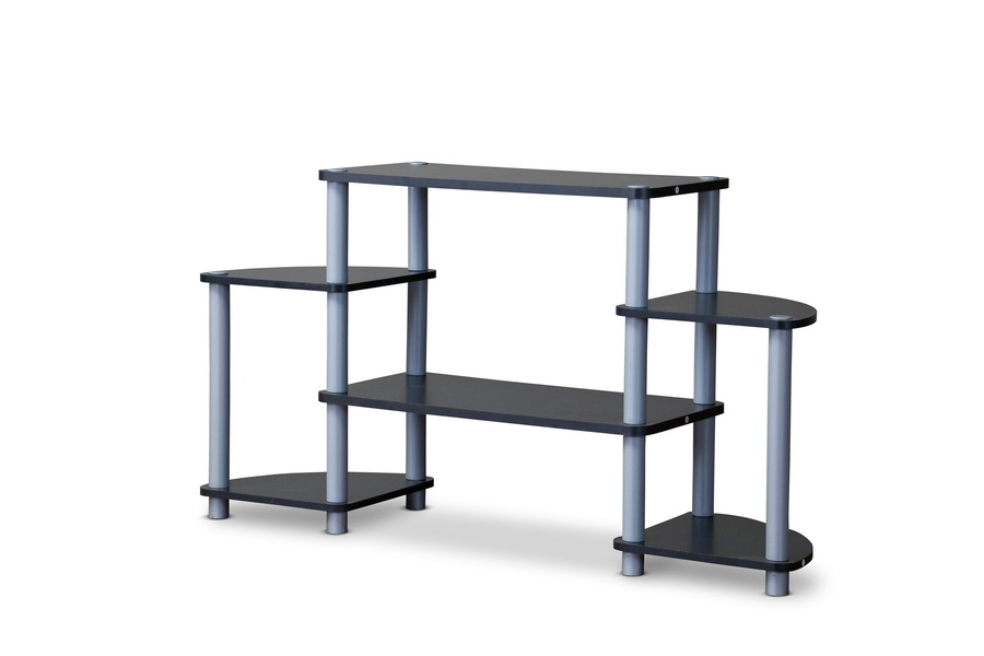 Baxton Studio Orbit TV Stand Triple Tier
