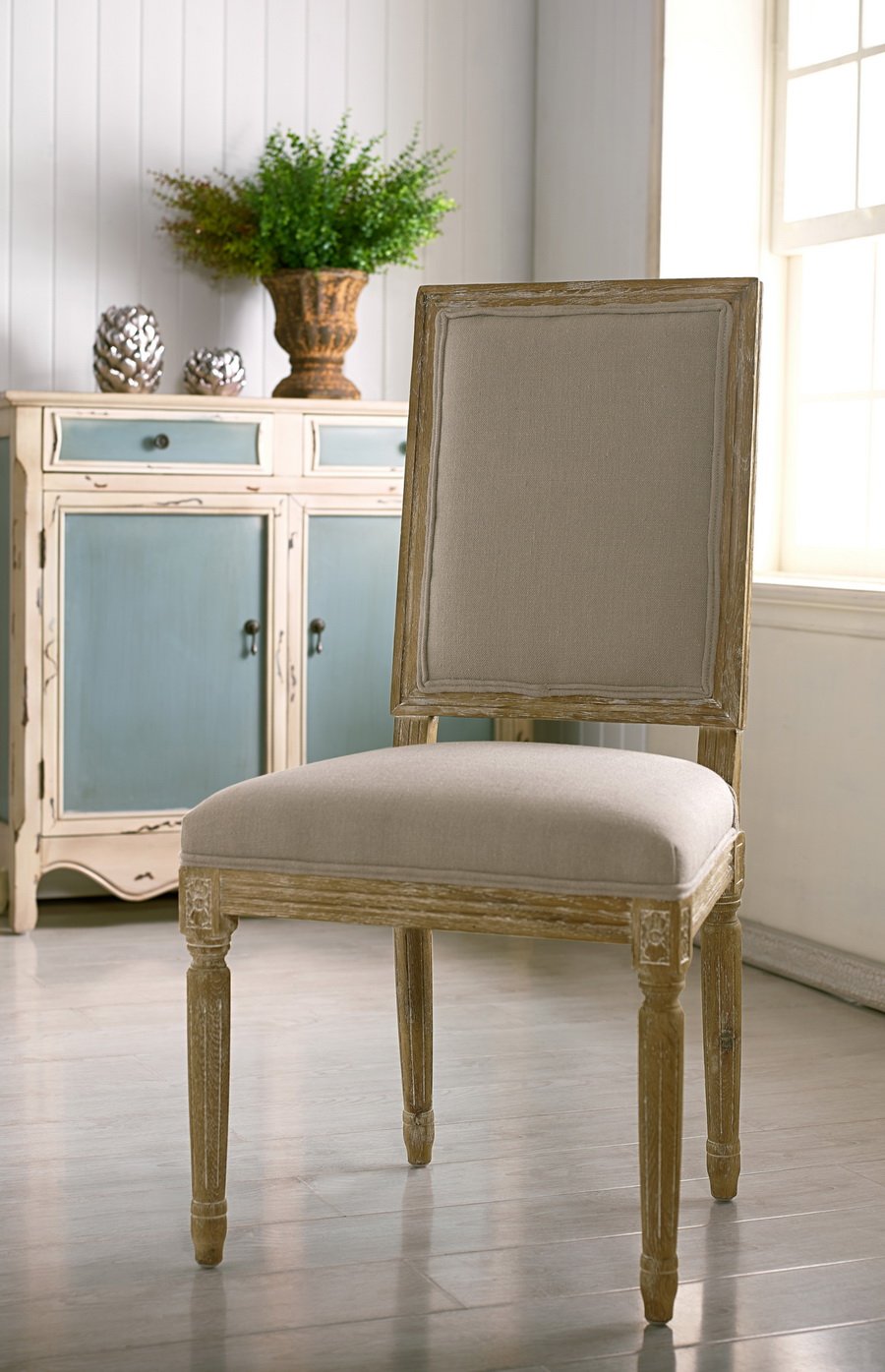 Baxton Studio Clairette Wood Traditional French Accent