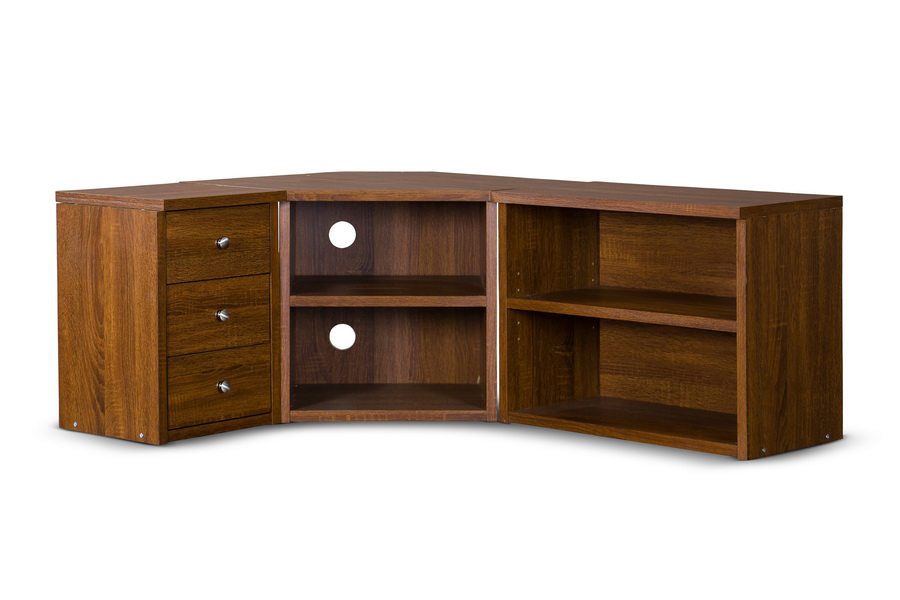 Baxton Studio Commodore Tv Stand Affordable Modern Furniture In Chicago