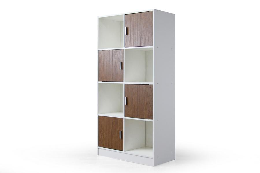 Baxton Studio Chateau Bookcase Affordable Modern