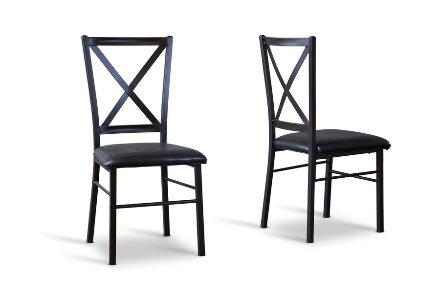 contemporary dining chair set of 2 affordable modern furniture in