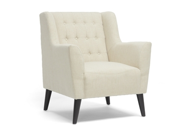 Berwick Beige Linen Arm Chair $239