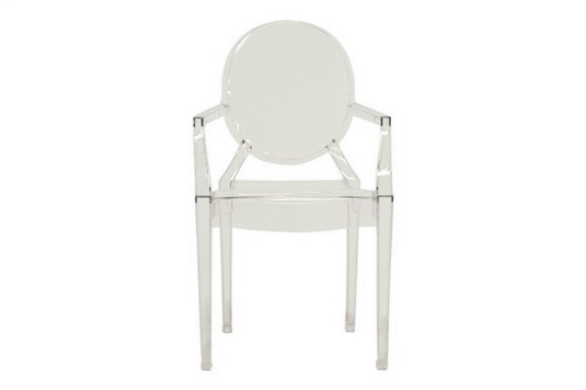 Baxton Studio Sabastian Modern Acrylic Armed Ghost Chair $83