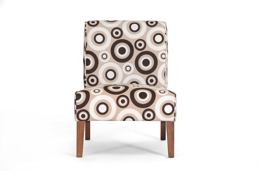 Davis Tan Fabric Accent Chair $95